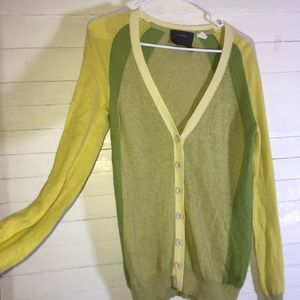 Anthropologie Guinevere Wool Blend Cardigan